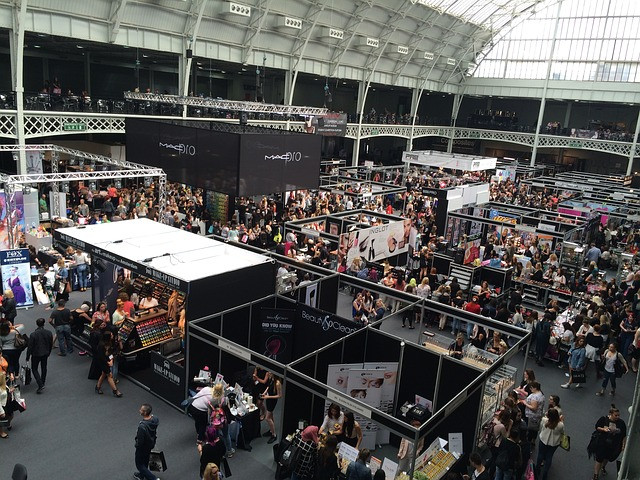 marketing at trade shows by exhibiting. Collect information via your own mobile app
