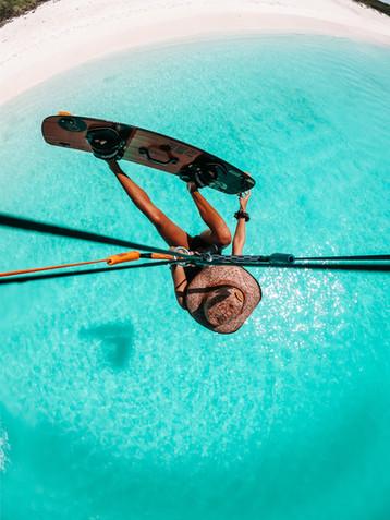 Kitesurf in Los Roq