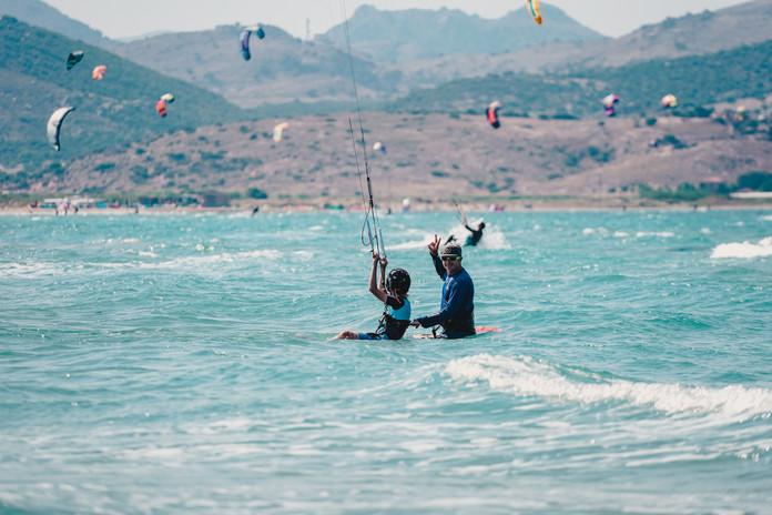 kitesurf lessons in Gokceada