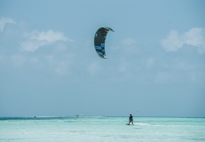 Pro camps in Los Roques