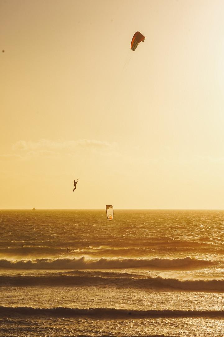 Kitesurfing in Capetown