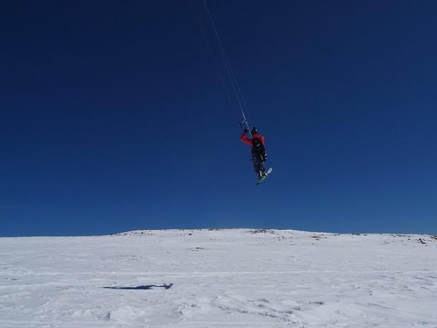 Vitosha Snowkiting