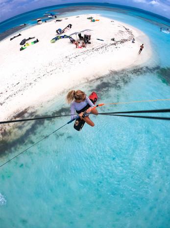Saki saki kitesurfing