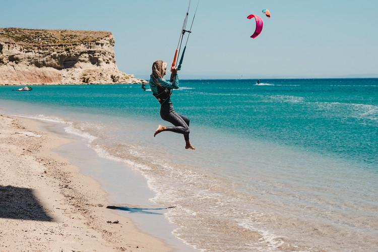 Gokceada kitesurf lessons