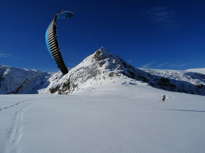Snowkite Vitosha