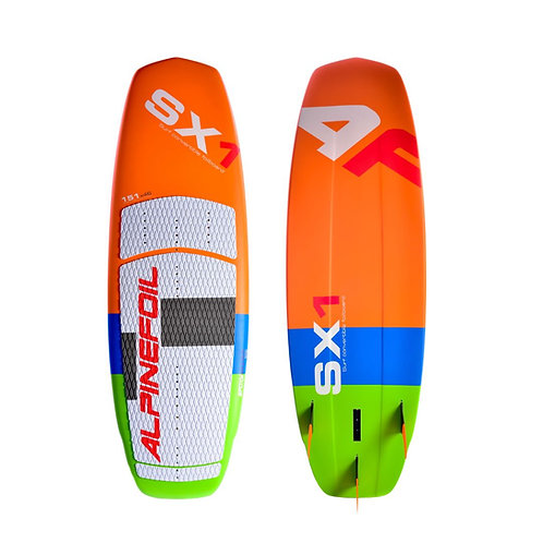 Kitefoil SX-1 convertible surfkite 4.9 x 18.1 - 23 Liters