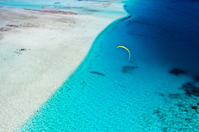 Foiling in paradise
