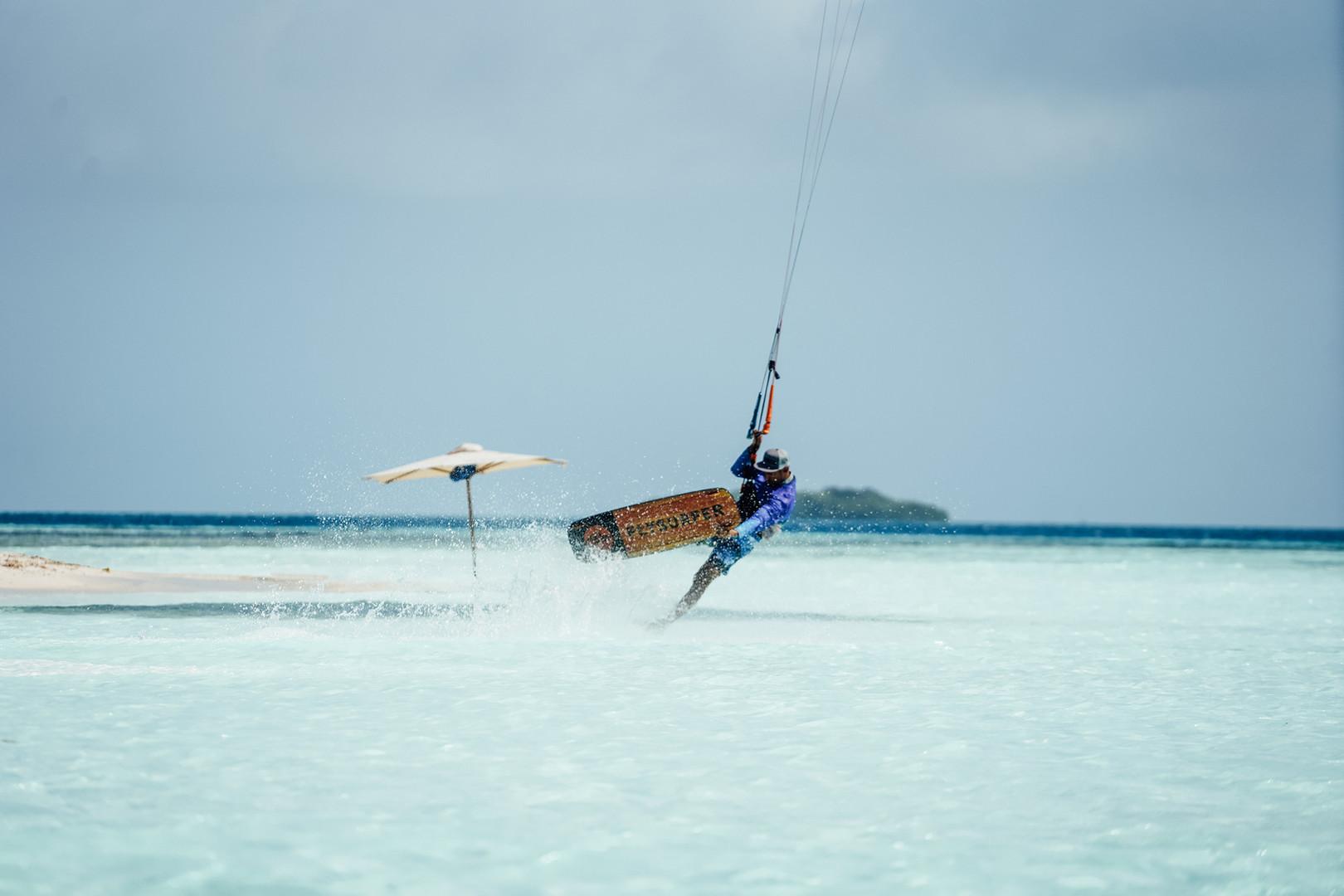Kitesurf in Los Roques