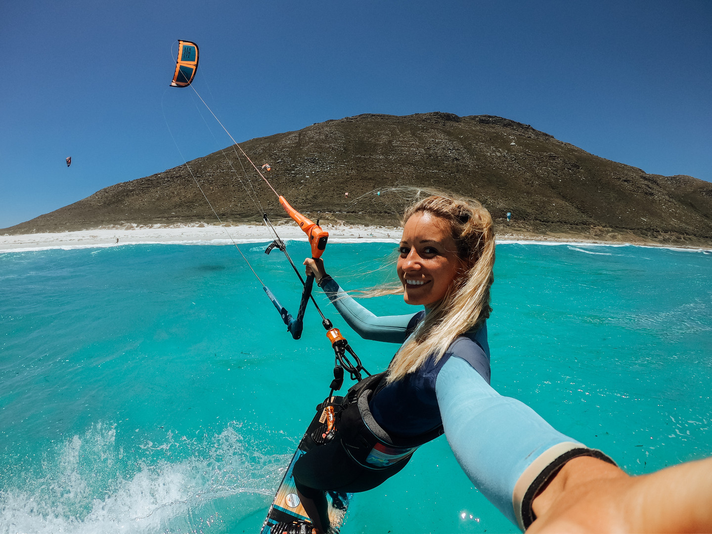 Misty Cliffs Kitesurfing