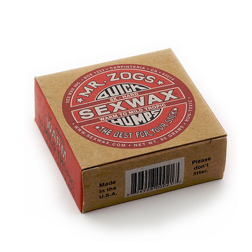 Sexwax Quick Humps Surf Wax: Eco Box