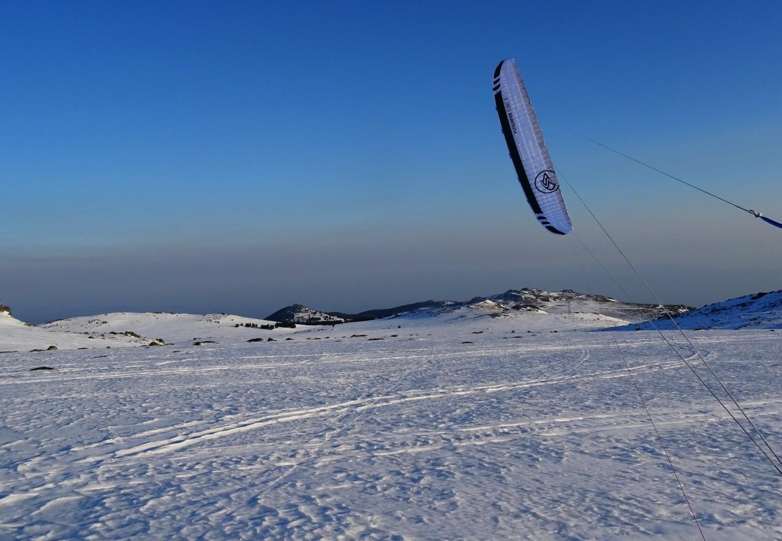 Snowkite Bulgaria