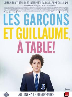 Les garçons et Guillaume à table !