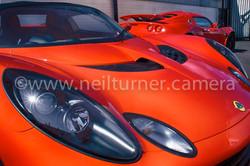 Lotus Elise. Cardiff. 2007
