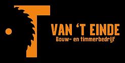 T. van 't Einde - Logo horizontaal zwart