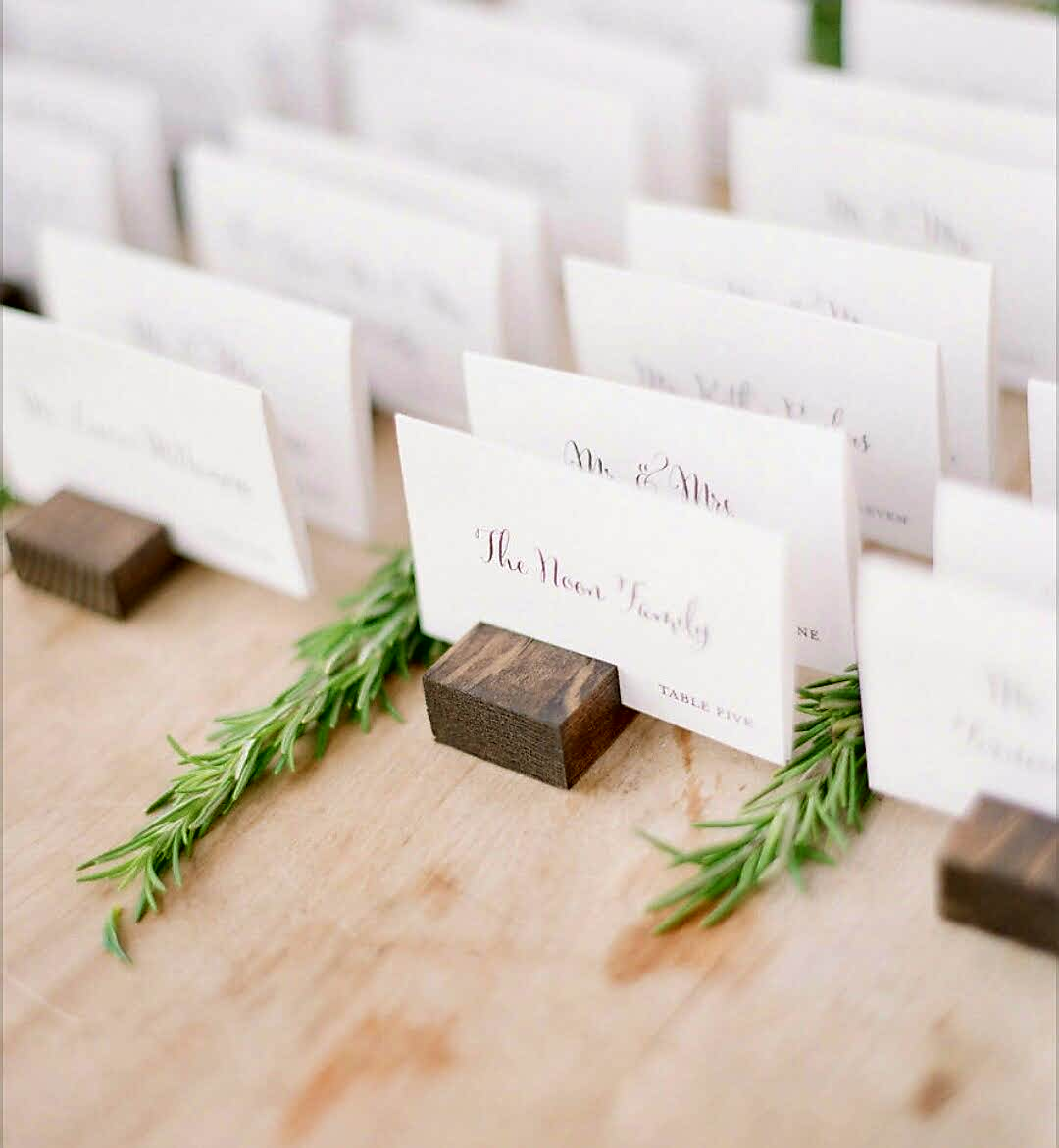 Nikki P. Escort Card Table