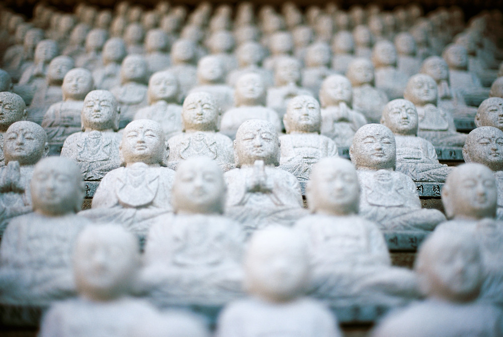 Buddhism is all about personal focus on self-awareness and reflection