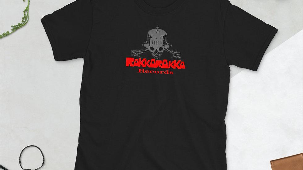 Short-Sleeve Unisex Rakka Rakka Red T-Shirt