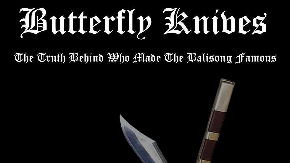 e-book: MY LIVES WITH BUTTERFLY KNIVES by Victor Anselmo
