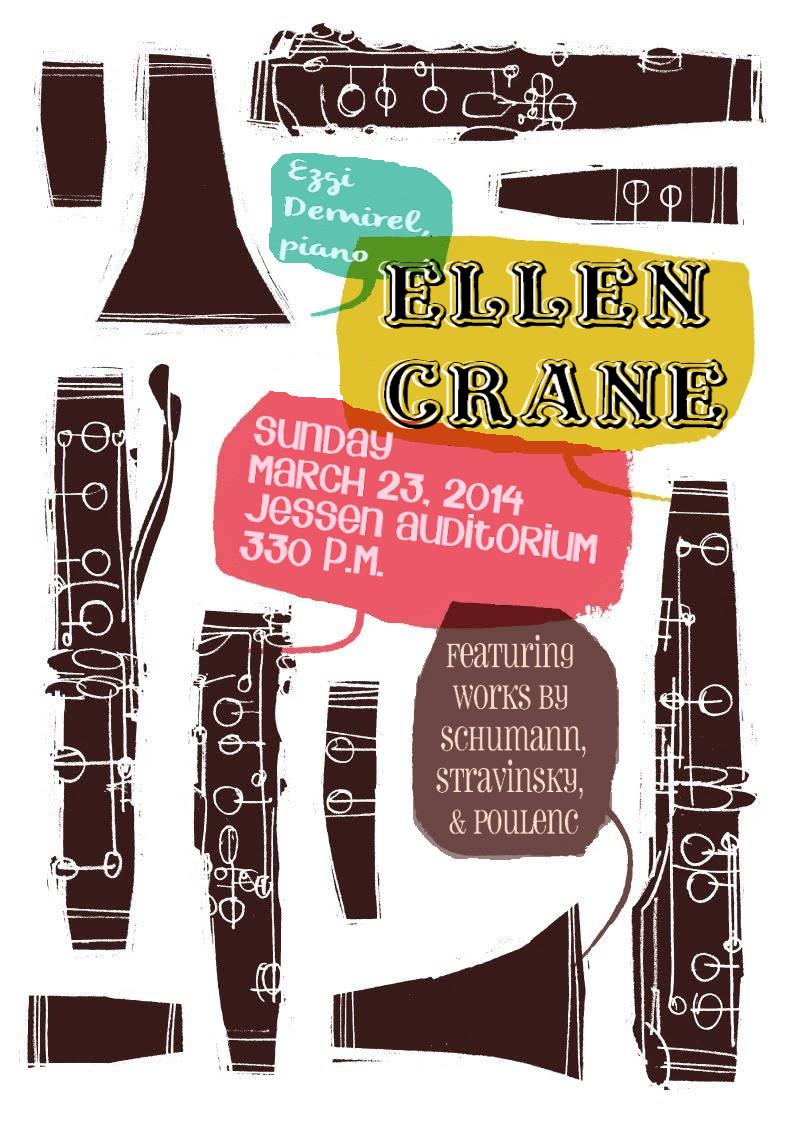 Junior Recital Poster