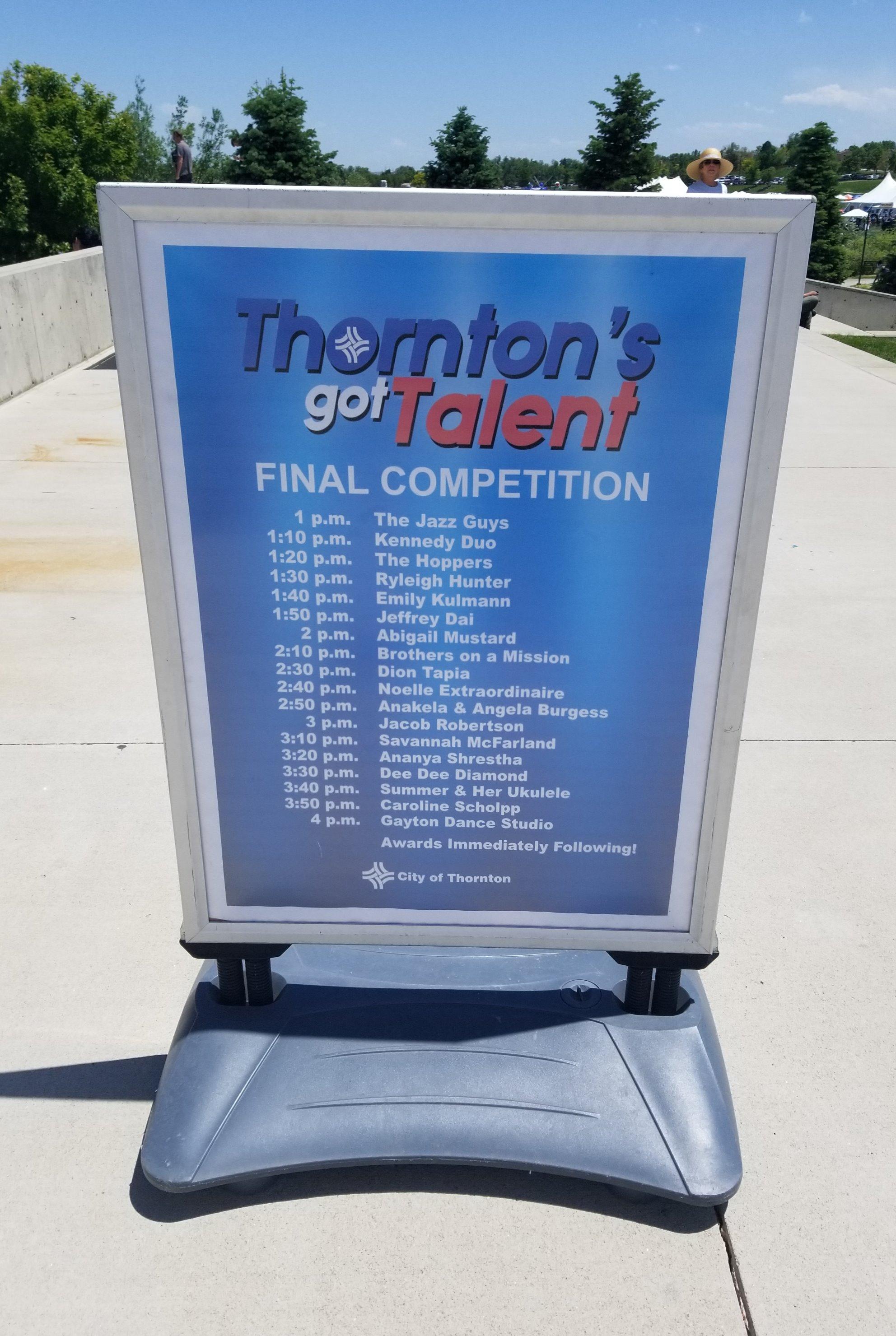 Thornton's Got Talent