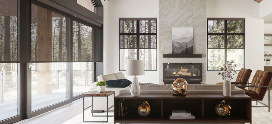 Energy-Efficient Motorized Shades for Hot Texas Summers