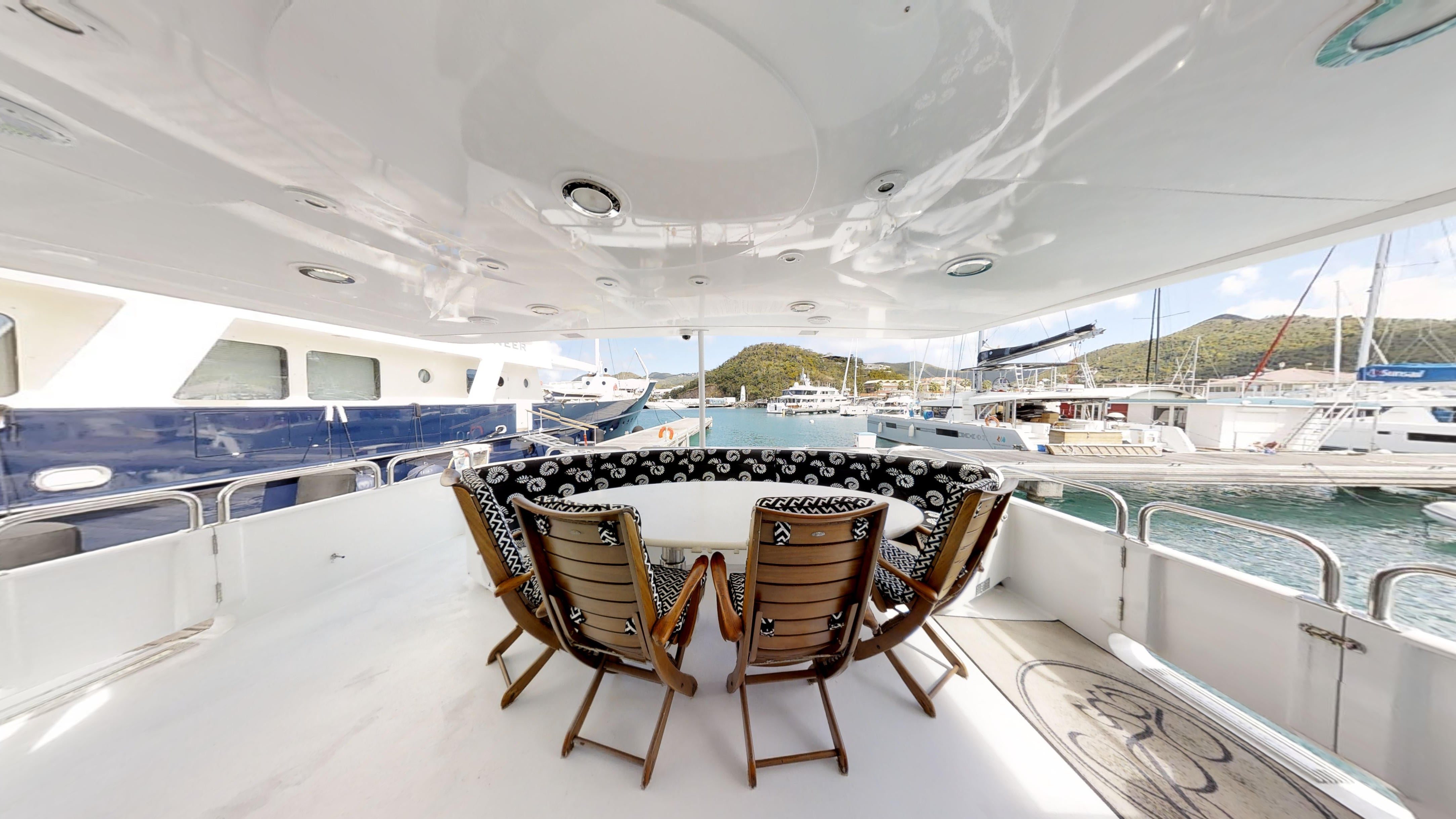 Lady Sharon Gale Aft Deck