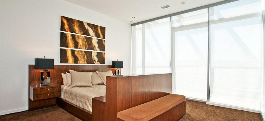 Keep Your Cool With Motorized Shades