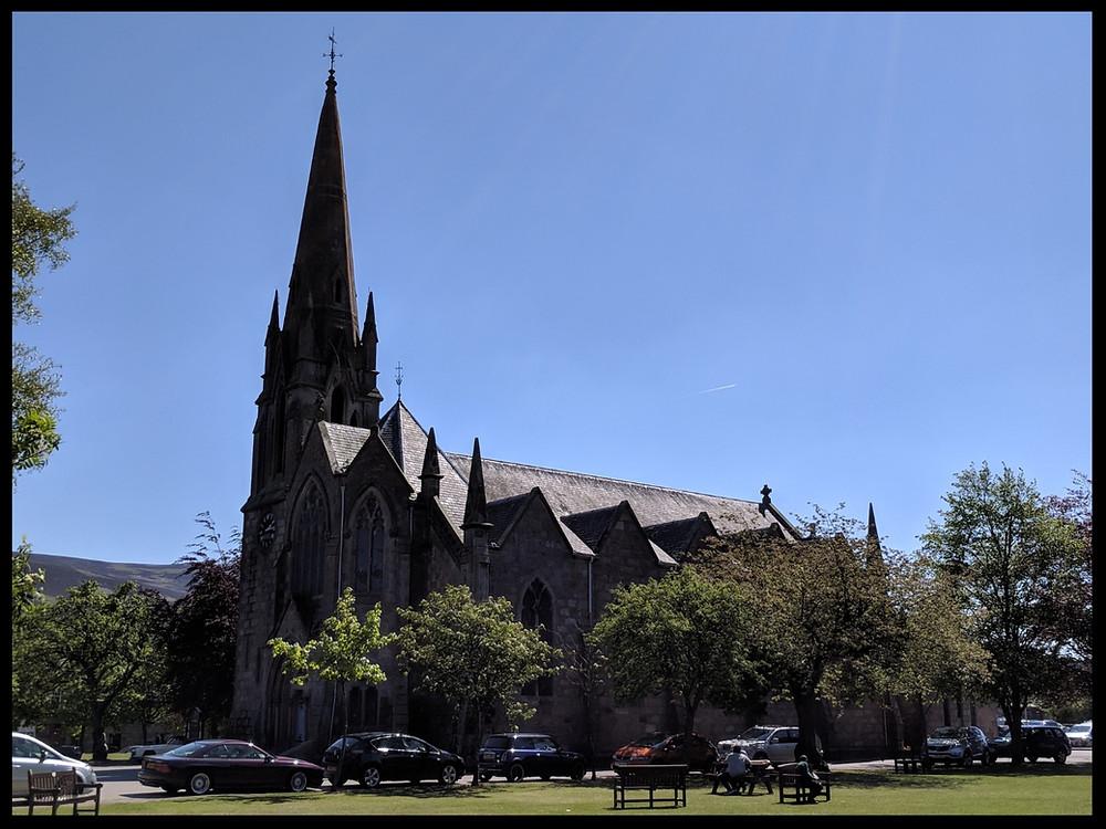 Glenmuick Parish Church, Ballater, Royal Deeside, Scotland.