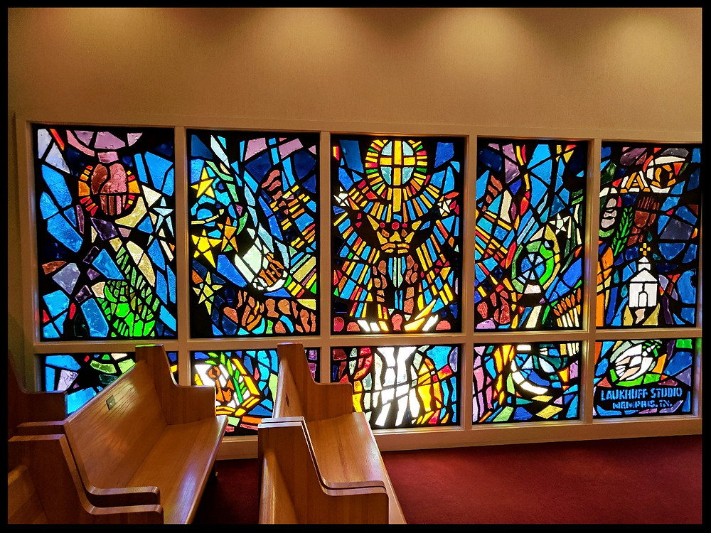 Memorial Chapel, The Elvis Presley Birthplace Museum, Tupelo, Mississippi.