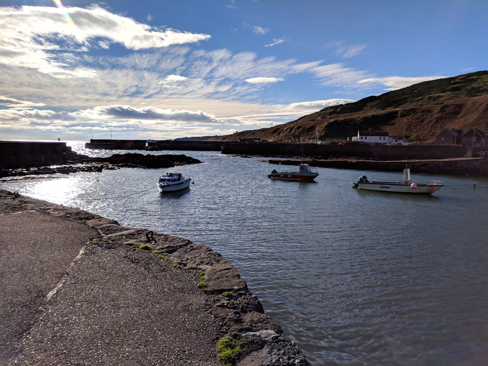 Gourdon Harbour, Aberdeenshire, Scotland