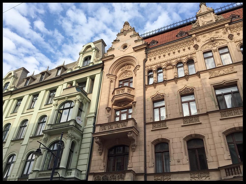 Piotrkowska Street, Łódź, Poland.