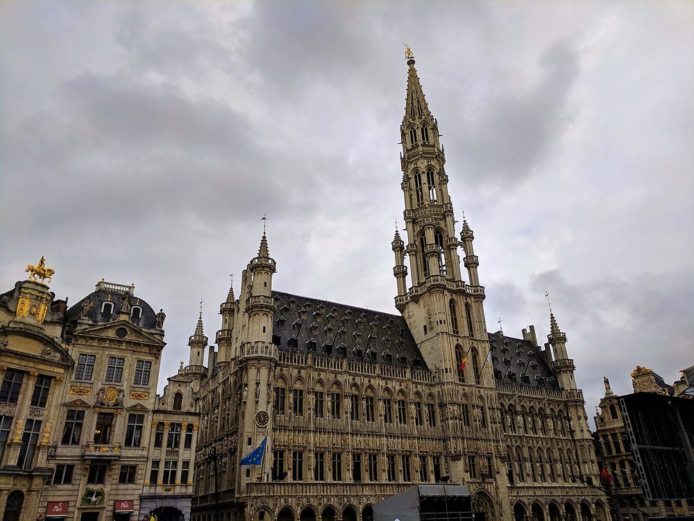 The Hotel de Ville, The Grand-Place, Brussels