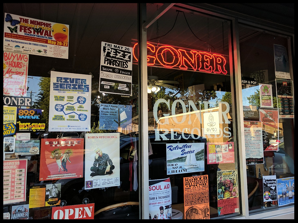 Goner Records, Memphis, Tennessee