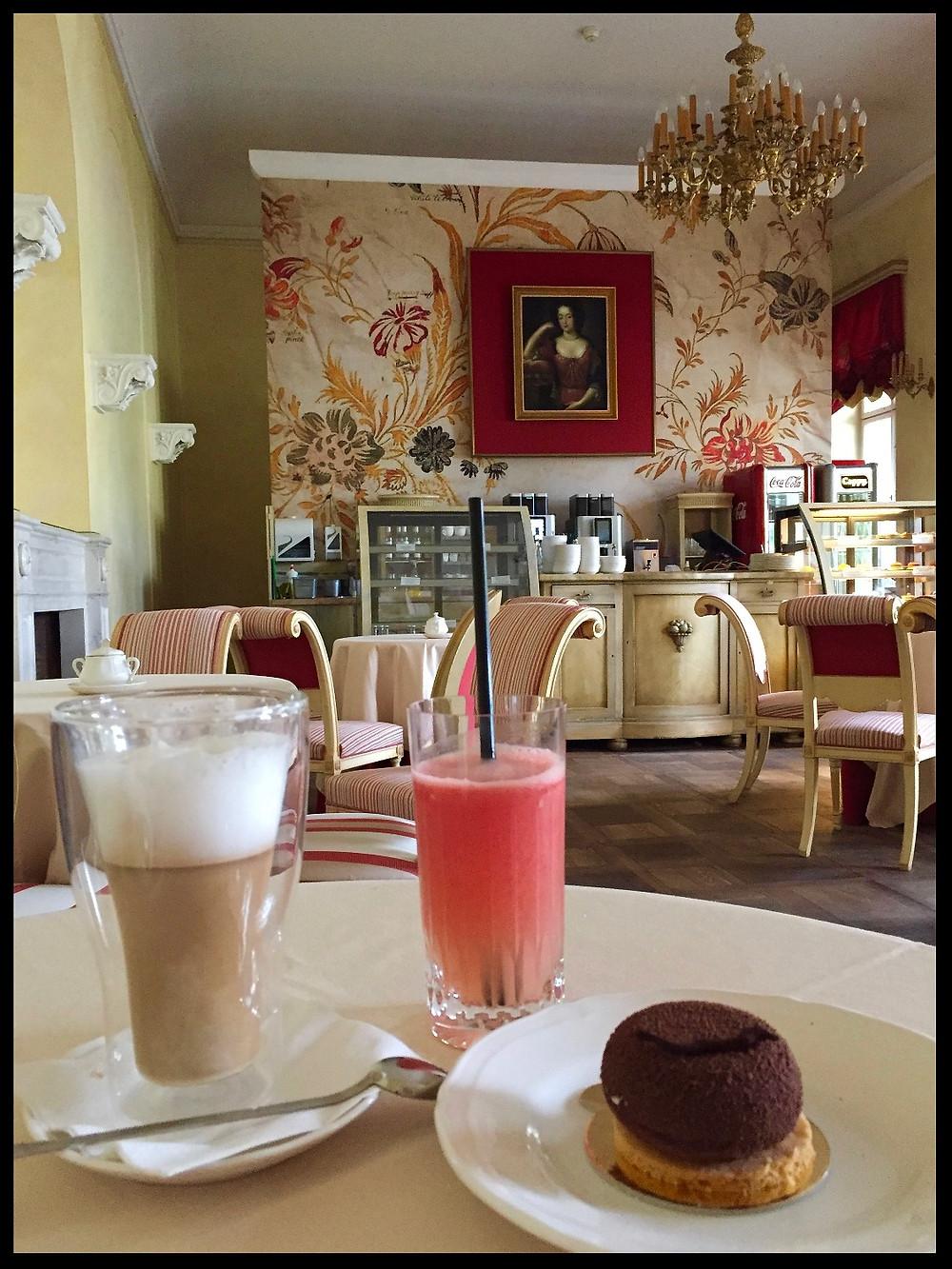 Natural Fruit Juice at King Jan III's Palace of Wilanow Café