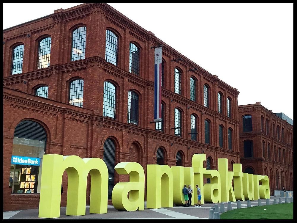Manufaktura, Łódź, Poland.