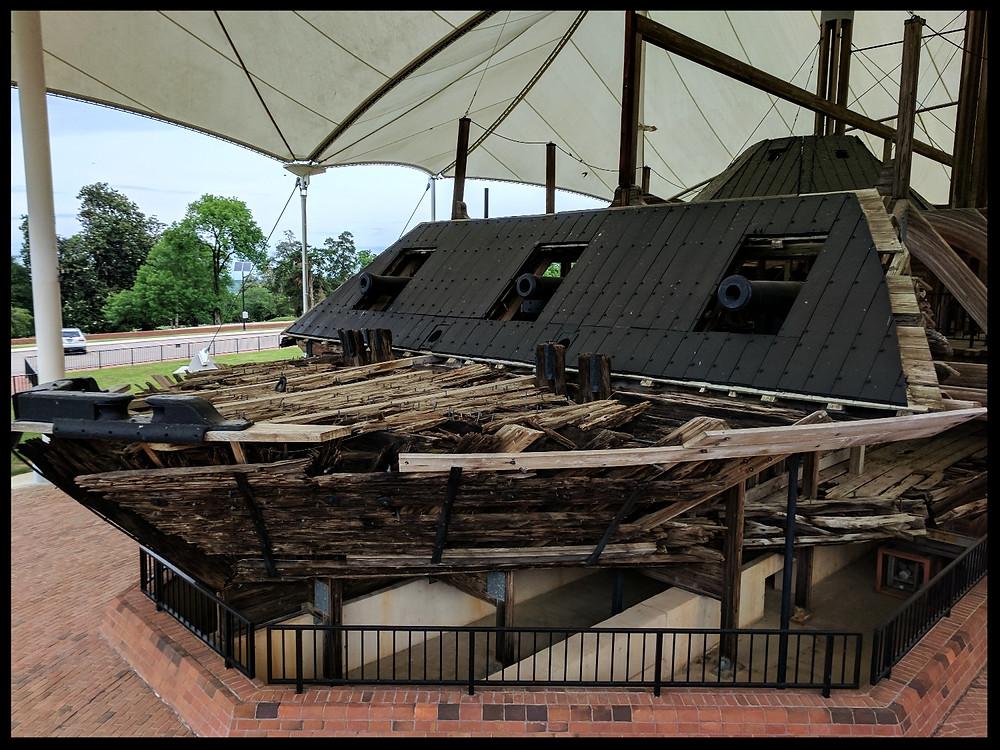 The U.S.S. Cairo Museum, The Vicksburg National Military Park, Vicksburg, Mississippi.
