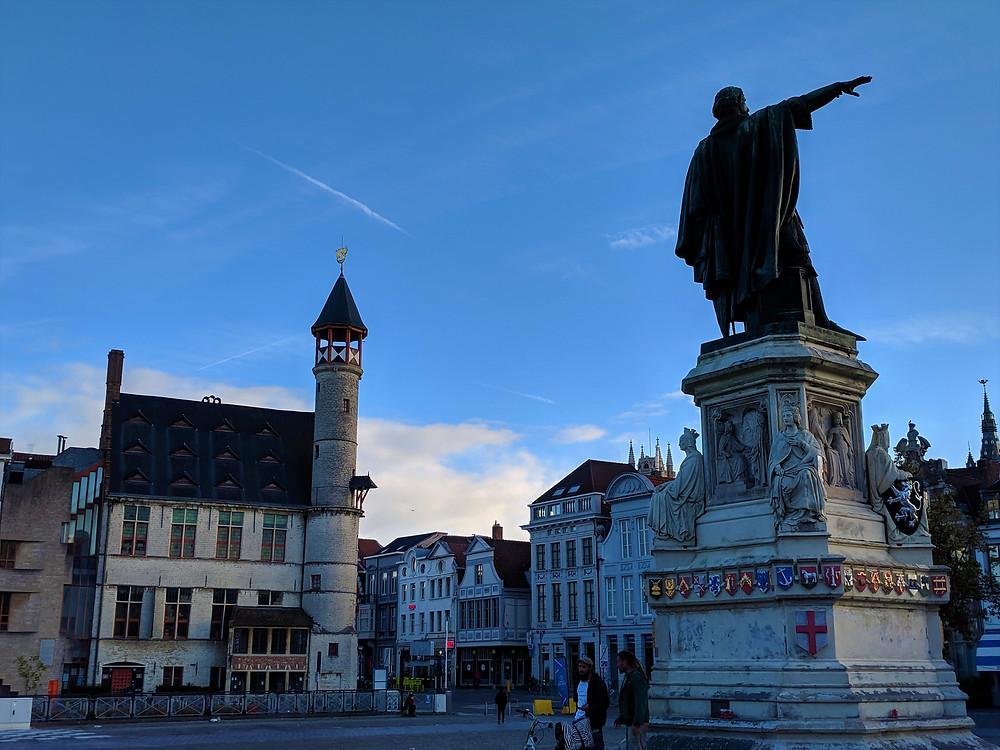 Vrijdagmarkt, Ghent.