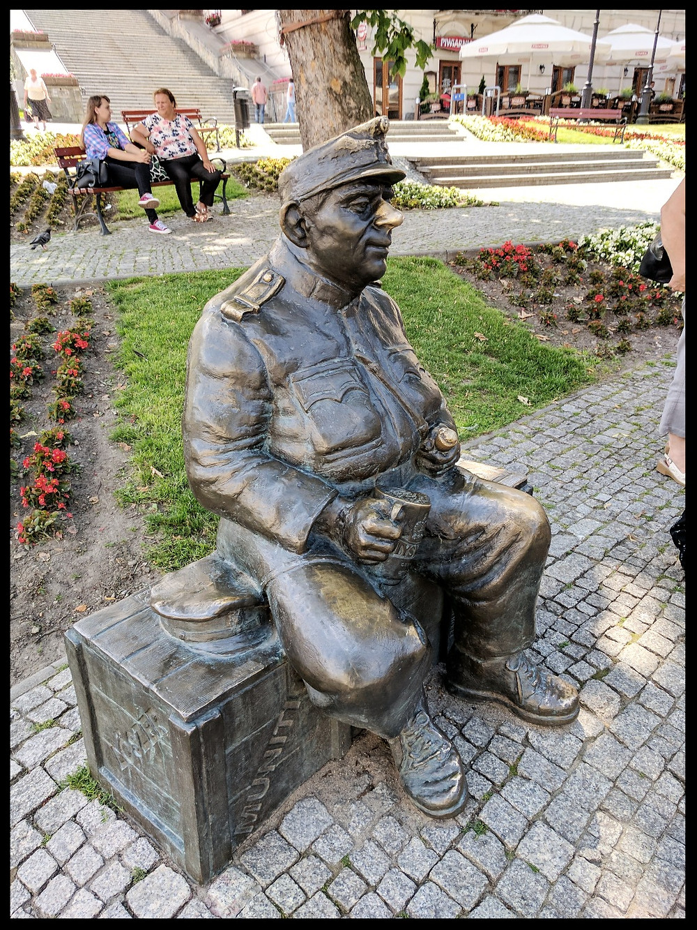 Švejk's Monument, Przemyśl, Poland