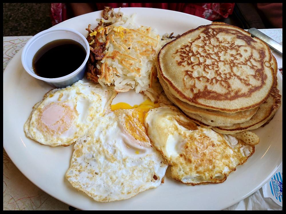 More breakfast at Arcade Restaurant