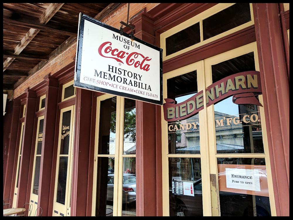 The Biedenharn Coca-Cola Museum, Vicksburg, Mississippi.