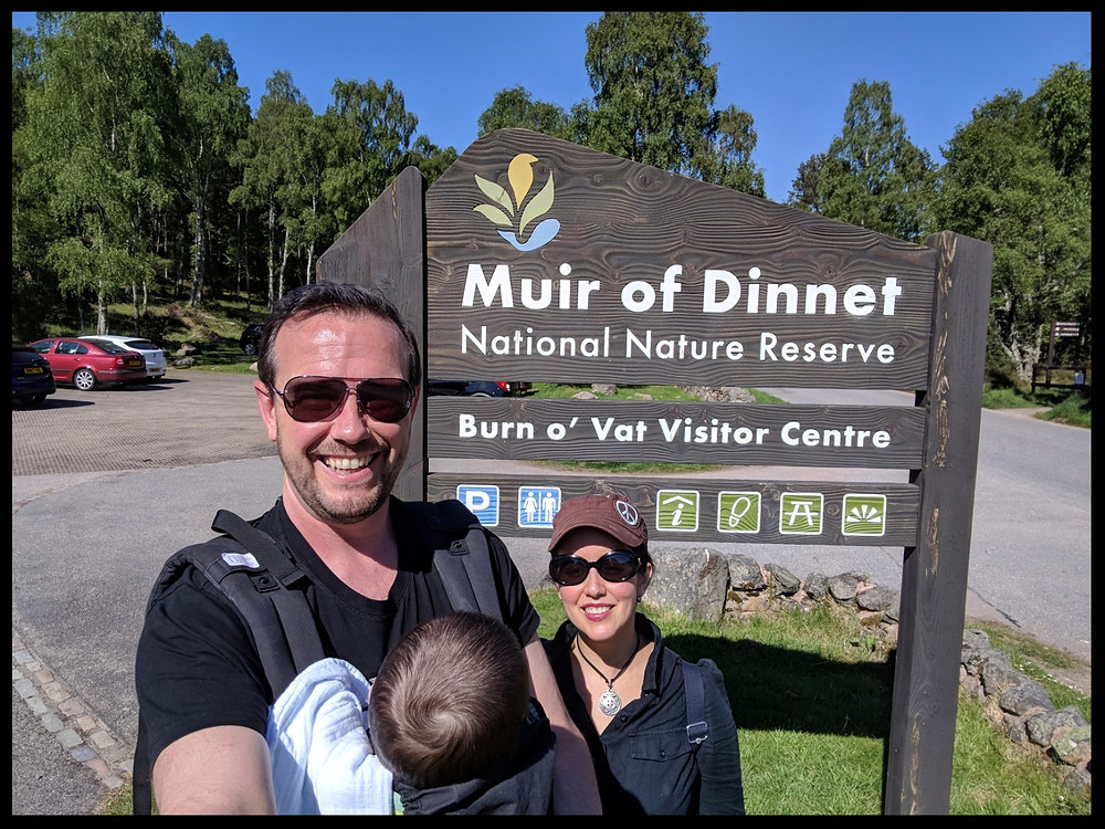 The Muir of Dinnet National Nature Reserve, Royal Deeside, Scotland.