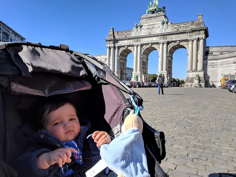 Triumphal Arch, Parc du Cinquantenaire, Brussels