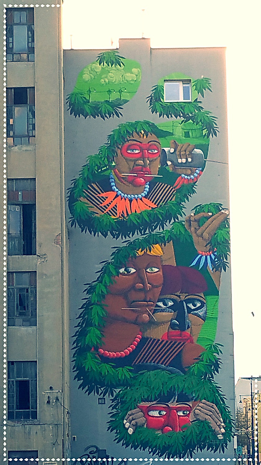 Polish Large Street Art - Indigenous