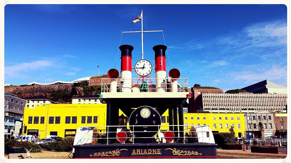 Ariadne - World's Largest Steam Clock