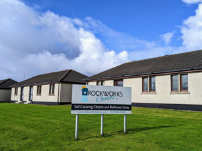 Discover Your Backyard - Rockworks Chalets, Orkney