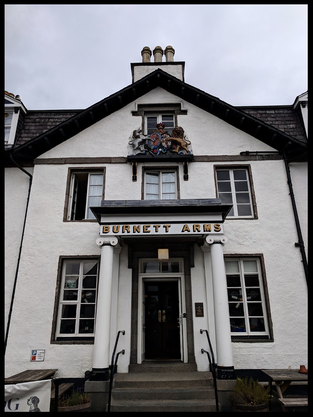 The Burnett Arms Hotel, Banchory, Scotland.