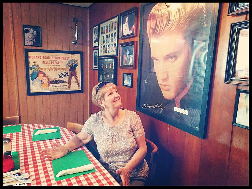 Coletta's Restaurant - Elvis' favourite table