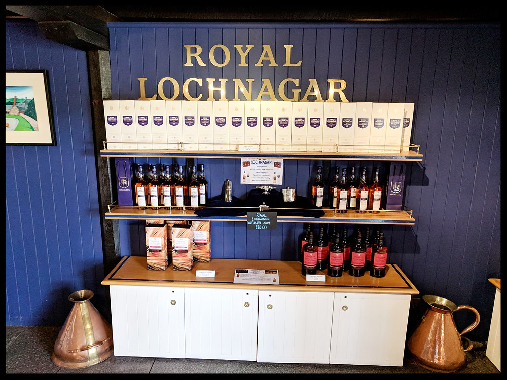 Royal Lochnagar Distillery, Scotland
