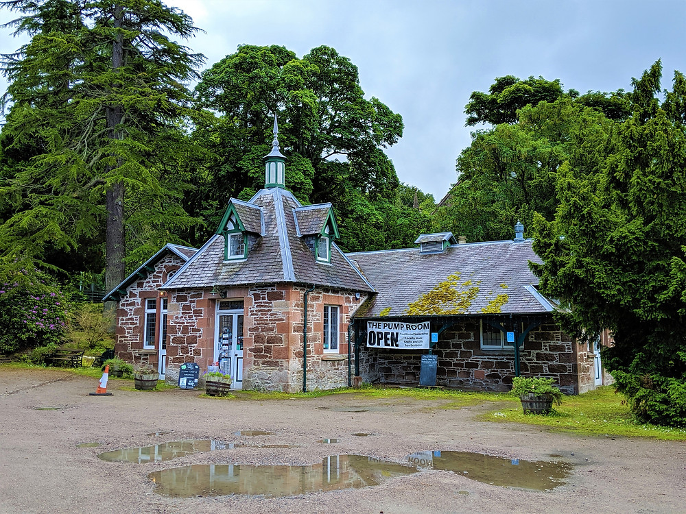 Strathpeffer Pump Room, Scotland