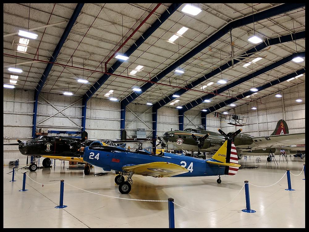The Lone Star Flight Museum, Galveston, Texas.
